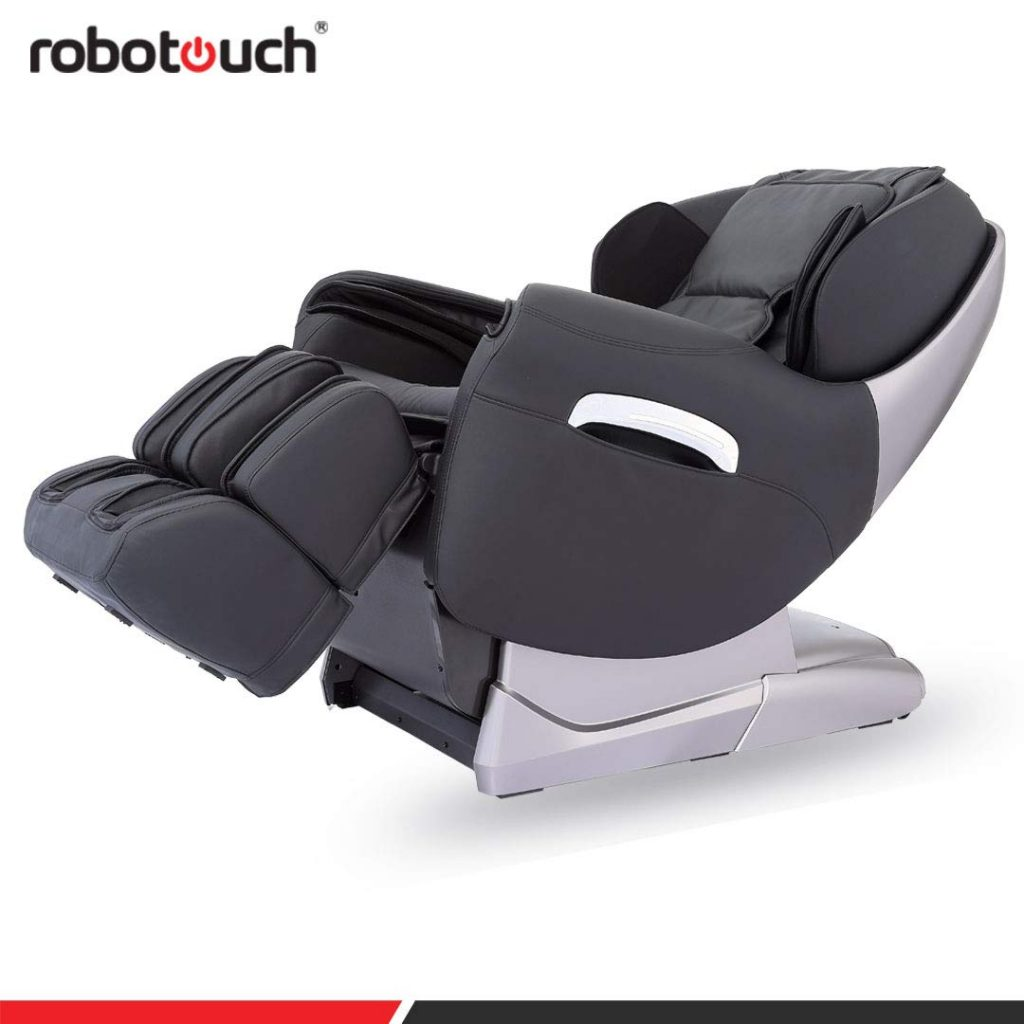 Robotouch Maxima Luxury Ultimate Full Body Zero Gravity Massage Chair (Black)
