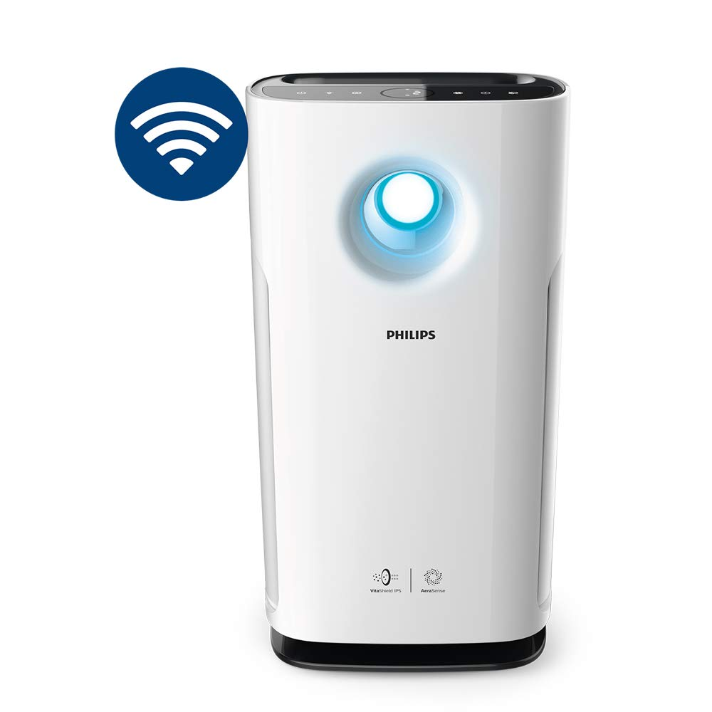 Philips AC3259/20 - WiFi Enabled, App Connected, Removes 99.97% air pollutants, Ideal for Large Rooms