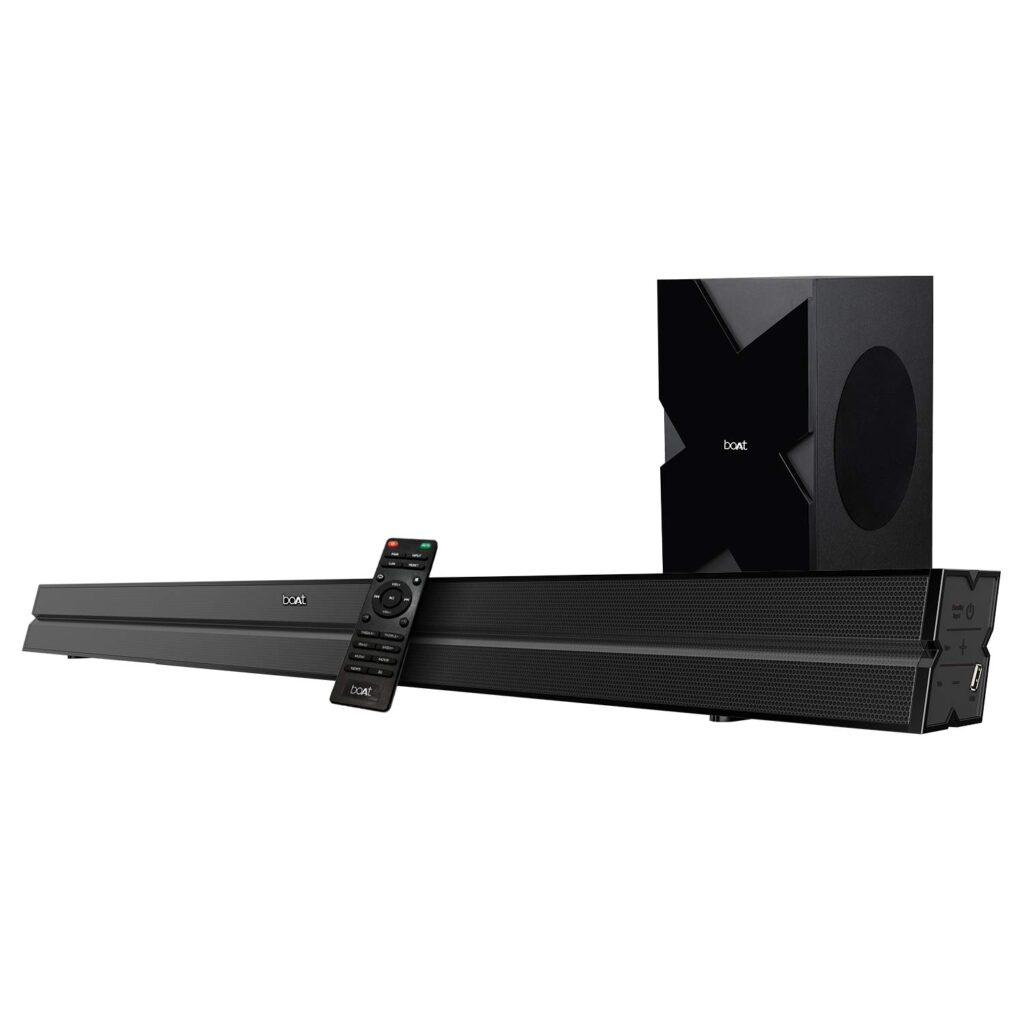 boAt AAVANTE BAR 2000 160W Bluetooth Soundbar with 2.1 Channel