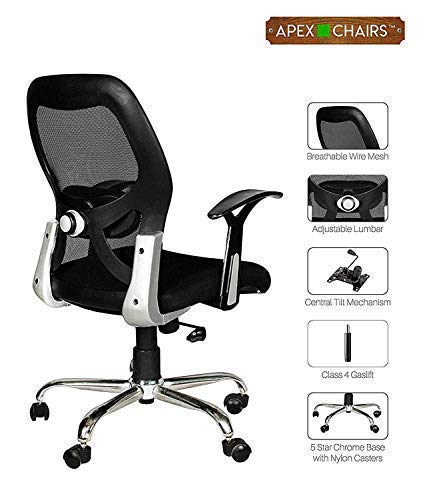 Savya Home APEX AM-5002 Apollo Medium Back Office Chair