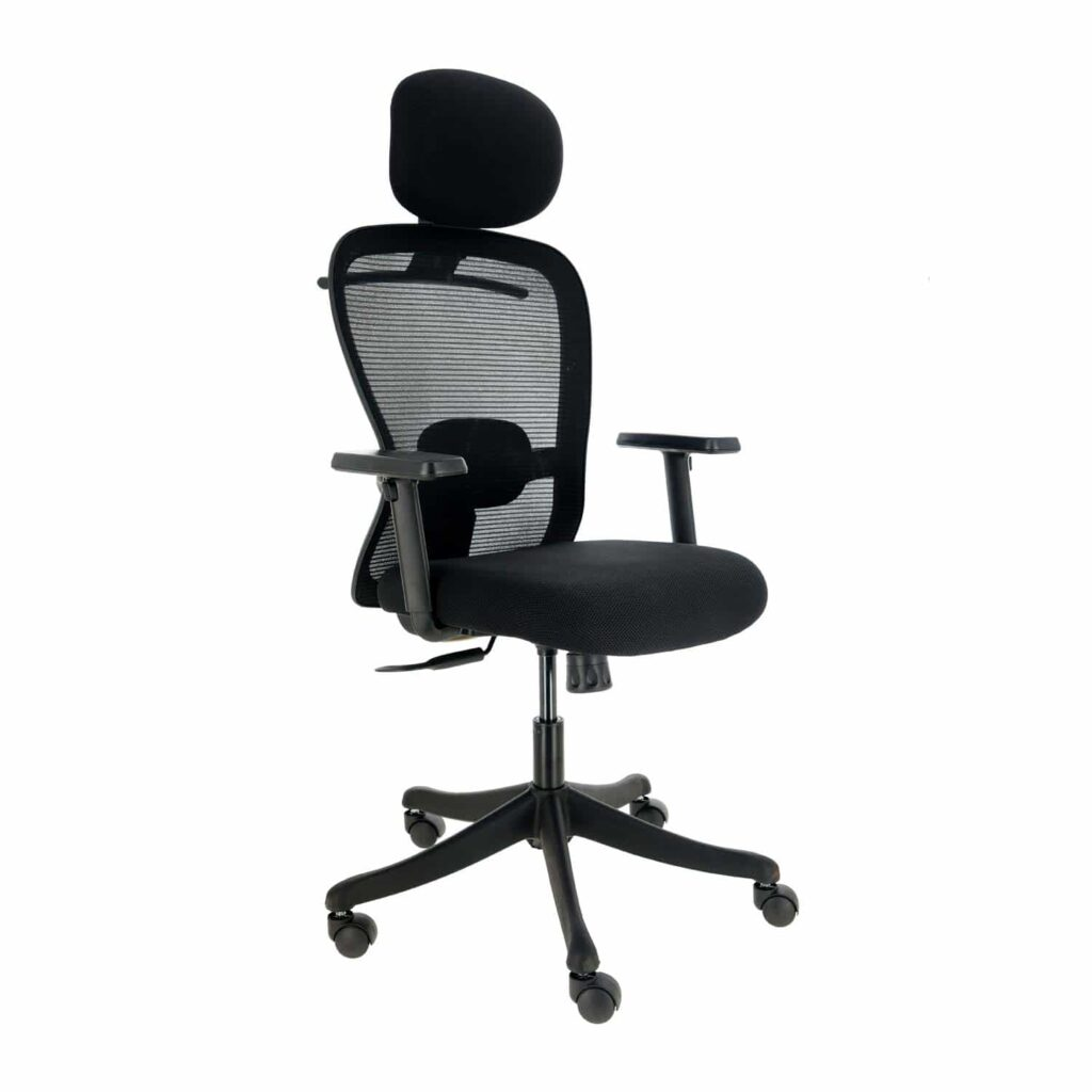 JD9 High Back Office Chair with Adjustable Lumbar Back Support
